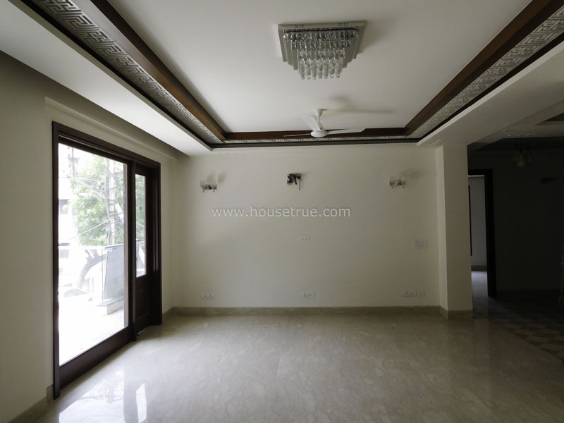 Living Room-Partially Furnished-Apartment-Safdarjung-Enclave-New-Delhi-22050